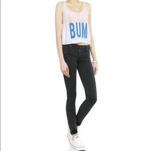 Wildfox beach bum crop tank